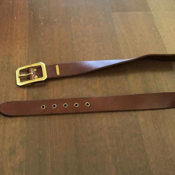 Ralph Lauren 100% genuine leather belt M